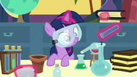 Filly Twilight Sparkle in chemistry class S7E1