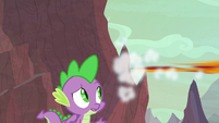 Garble zooms off-screen S9E9