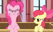 Pinkie Pie's lips are limbered up 5 S2E14