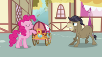 Pinkie Pie, Cranky, and welcome wagon S02E18