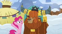 "Pinkie Pie ""ponies love snow sandwiches!"" S7E11"