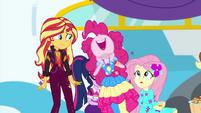 Pinkie Pie shouting her own name EGSBP