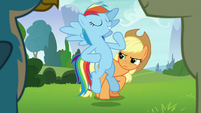 """Rainbow Dash """"with me in charge"""" S8E9"""