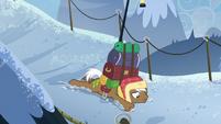 Rare Find falls over in the snow S8E16