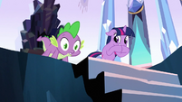 Spike 'When did you' S3E2