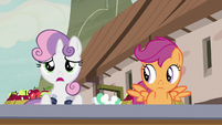 "Sweetie Belle ""who's that pony?"" S7E8"