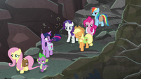 Twilight tells Rarity to use her tail S8E25