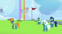 Windy Whistles meets the Wonderbolts S7E7