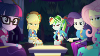 Equestria Girls giving judgmental looks EGSBP