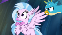 Gallus disagreeing with Silverstream S9E3