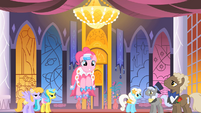 Pinkie Pie dancing at the Gala S01E26