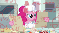 Pinkie Pie reads more comedy data S9E14