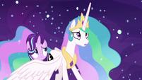 """Princess Celestia """"that's not true!"""" S7E10"""