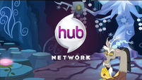 Promotional Discord as the announcer in an ad