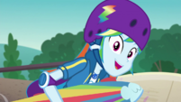 """Rainbow Dash """"your..."""" EGDS32"""