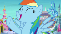 Rainbow Dash -relaxing in our room!- S8E5