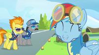 Rainbow Dash adorable side S3E7
