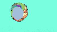 Rainbow spinning through the air PLS1E1a