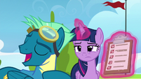 """Sky Stinger """"I don't need to practice at all"""" S6E24"""