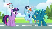 """Sky Stinger """"actually surprised you're still here"""" S6E24"""