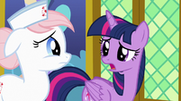 """Twilight """"came down with the horsey hives"""" S7E3"""