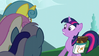 Twilight declining the invitation S5E12