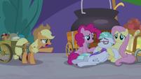 """Applejack """"this was a bad idea!"""" S9E17"""