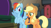 """Applejack """"we're gonna take your place"""" S6E18"""