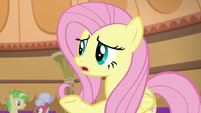 """Fluttershy """"do you think he knows?"""" S6E20"""