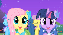"Fluttershy and Twilight ""meet new friends"" S01E26"