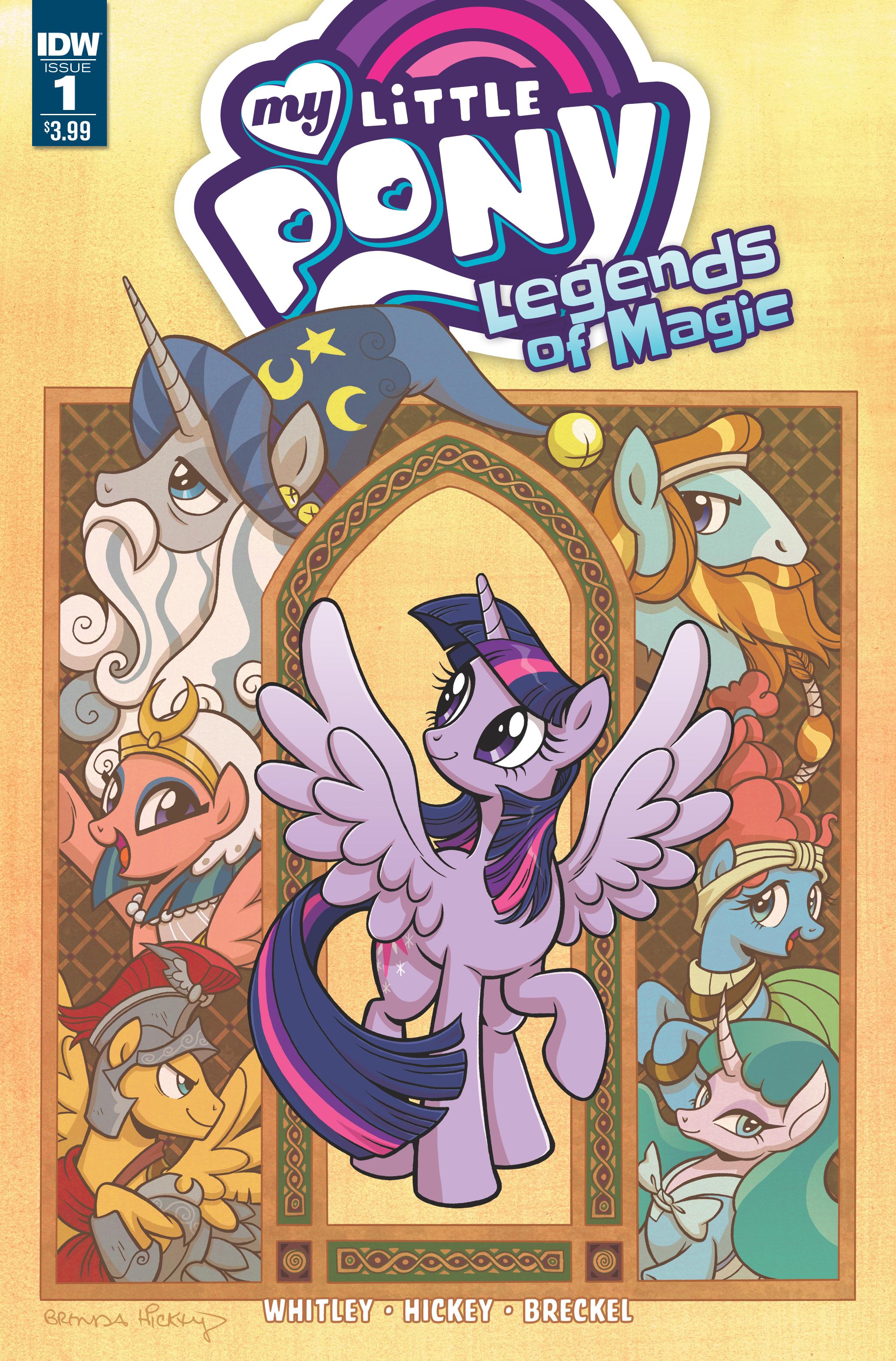 Legends of Magic Issue 1