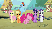 """Pinkie """"if it's okay with you"""" S5E11"""