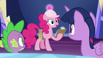 "Pinkie Pie ""sure we can!"" S8E1"