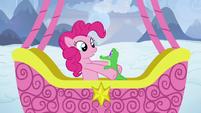 Pinkie Pie picks up Gummy S7E11