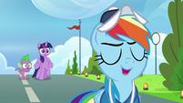 "Rainbow Dash ""of course!"" S9E26"