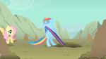 Rainbow Dash strong effort S1E19