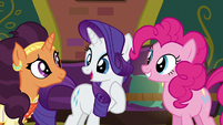 """Rarity """"why don't I stay behind"""" S6E12"""