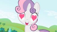 S02E03 Sweetie Belle naprawdę kocha jej grzywę