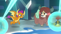 Smolder and Yona nod at each other S8E26