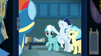 Soarin talking about the Wild Blue Yonder S8E5