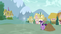 Twilight sees Discord gone S5E22