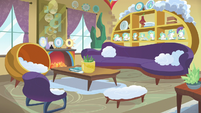 Bow and Windy's house, living room interior S7E7