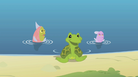 Fluttershy's aquatic animal friends S1E05