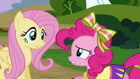 Fluttershy correcting herself S4E10