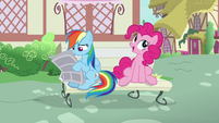 """Pinkie Pie """"I'd have never have picked noodles"""" S7E18"""