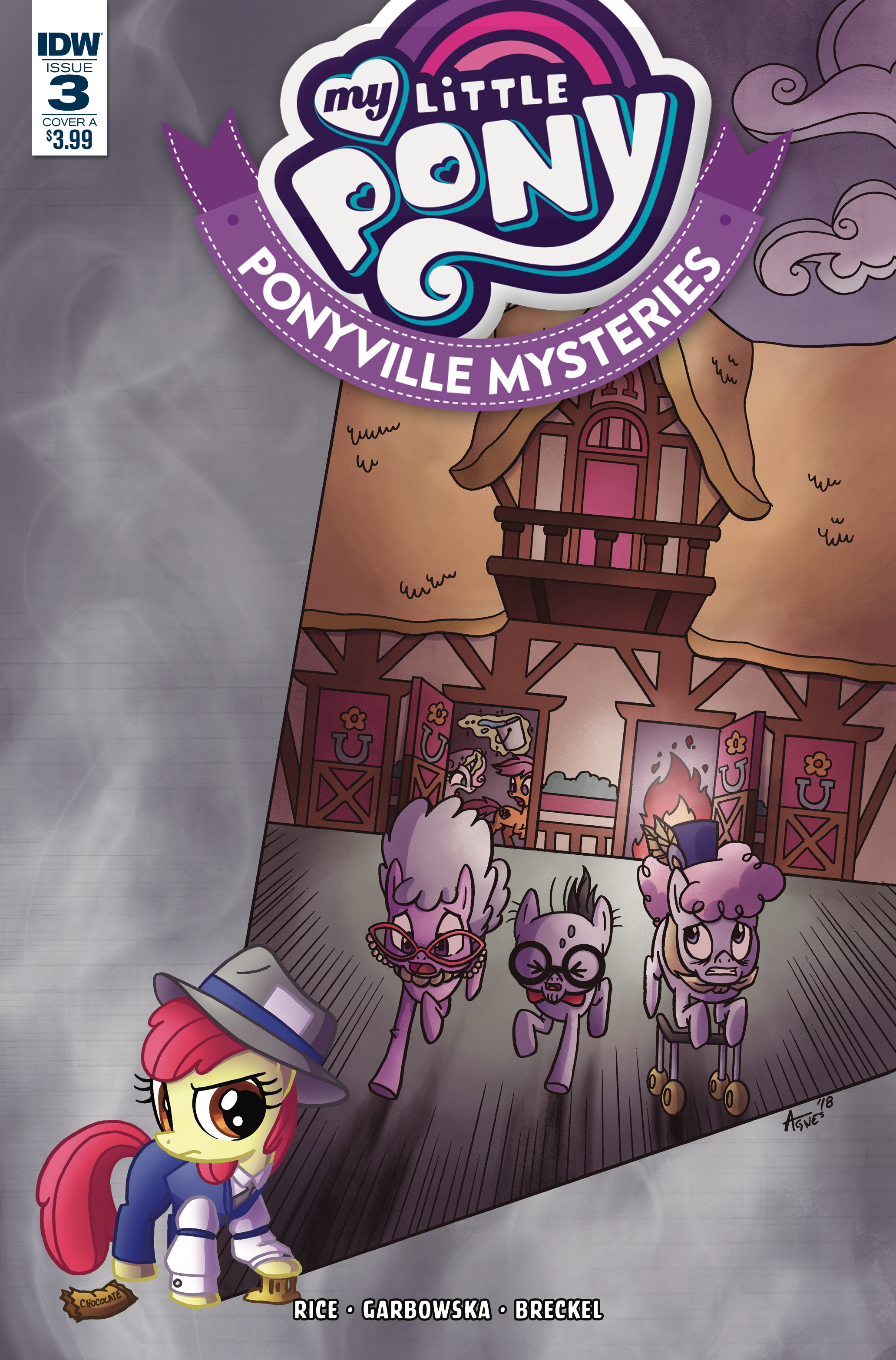 Ponyville Mysteries Issue 3