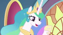 """Princess Celestia """"it's all thanks to you"""" S9E1"""