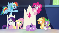 """Rainbow """"they literally almost never help"""" S9E1"""