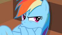Rainbow Dash pout face S2E8