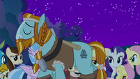 Rockhoof walks away from the students S8E21
